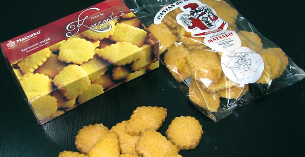 Pastas Karranzanas de Matxako