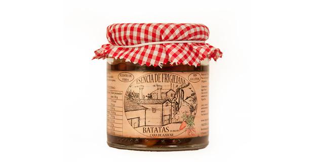 Esencia de Frigiliana-batata jugo cana