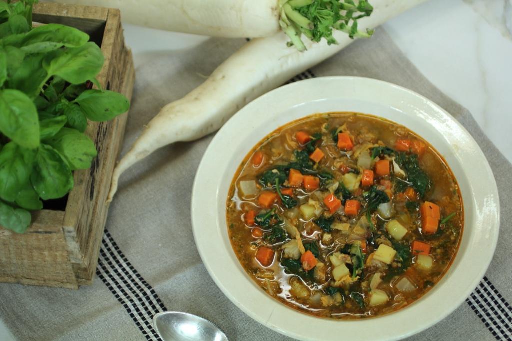1a Sopa minestrone canib