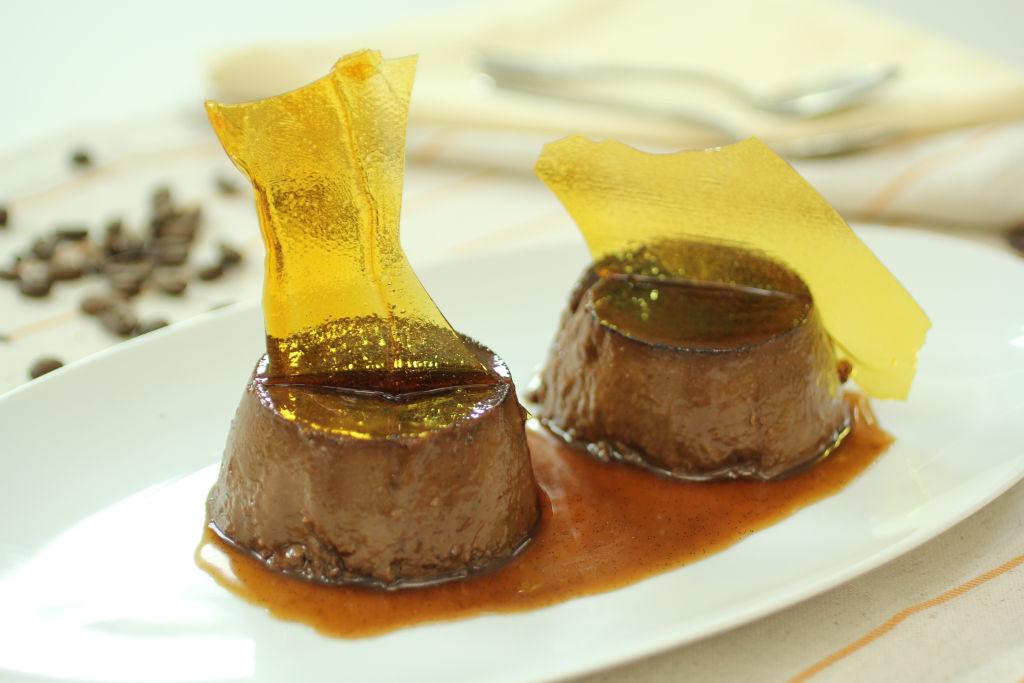 2b Flan de chocolate